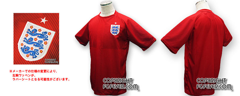 2014 イングランド代表A 半袖